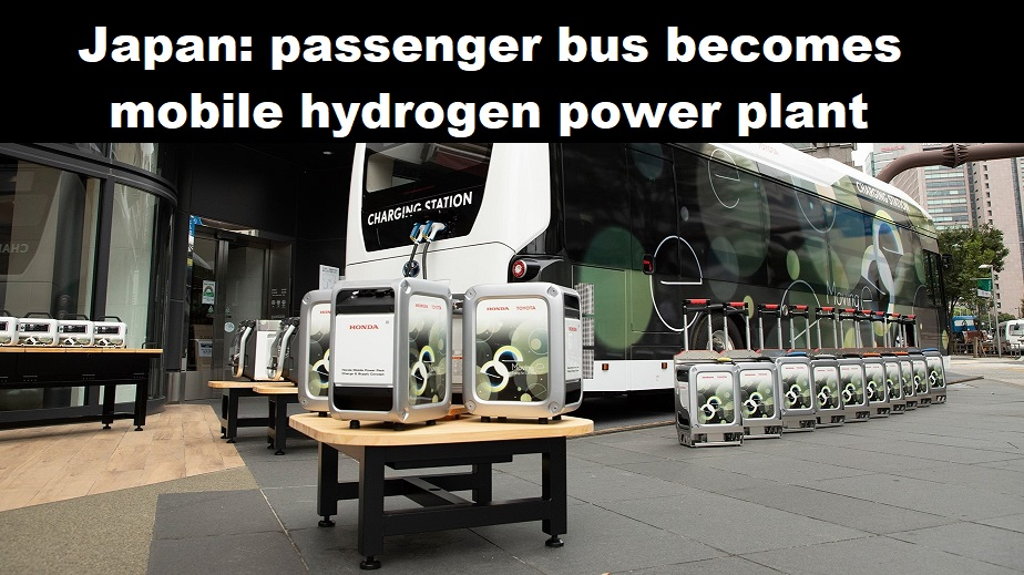 Toyota charging station bus