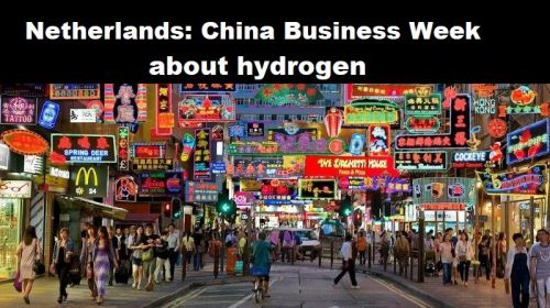 Nederland: China Business Week over waterstof