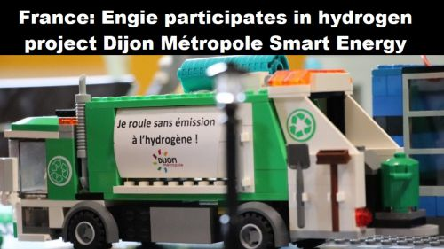 Frankrijk: Engie participeert in waterstofproject Dijon Métropole Smart EnergHy