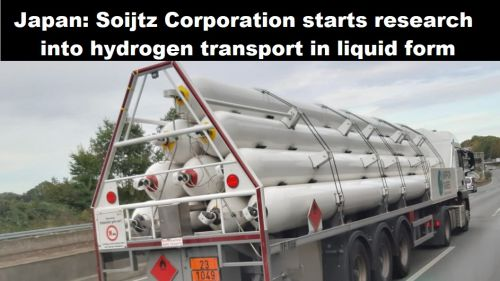 Japan: Soijtz Corporation start onderzoek naar waterstoftransport in vloeibare vorm
